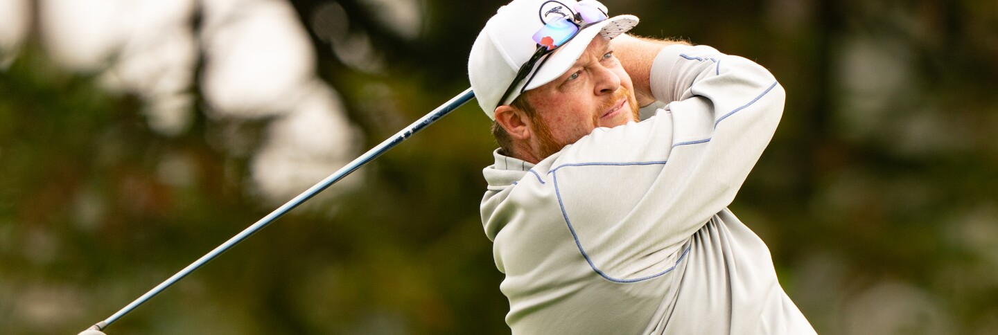 Tom Smith plays as a marker at 2020 PGA Championship