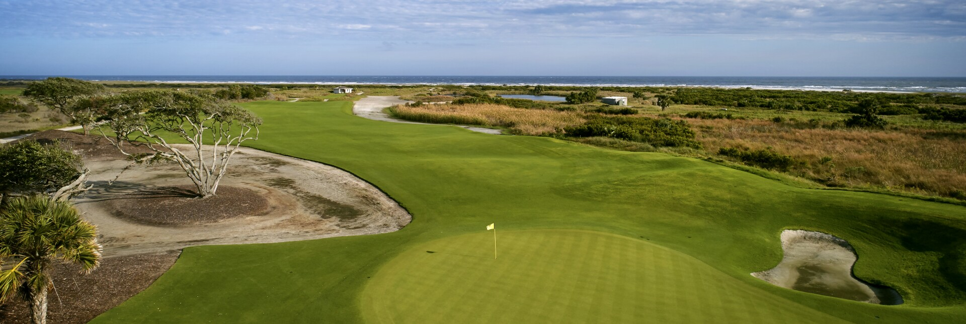 The sixth hole at the Ocean Course at Kiawah Island Golf Resort