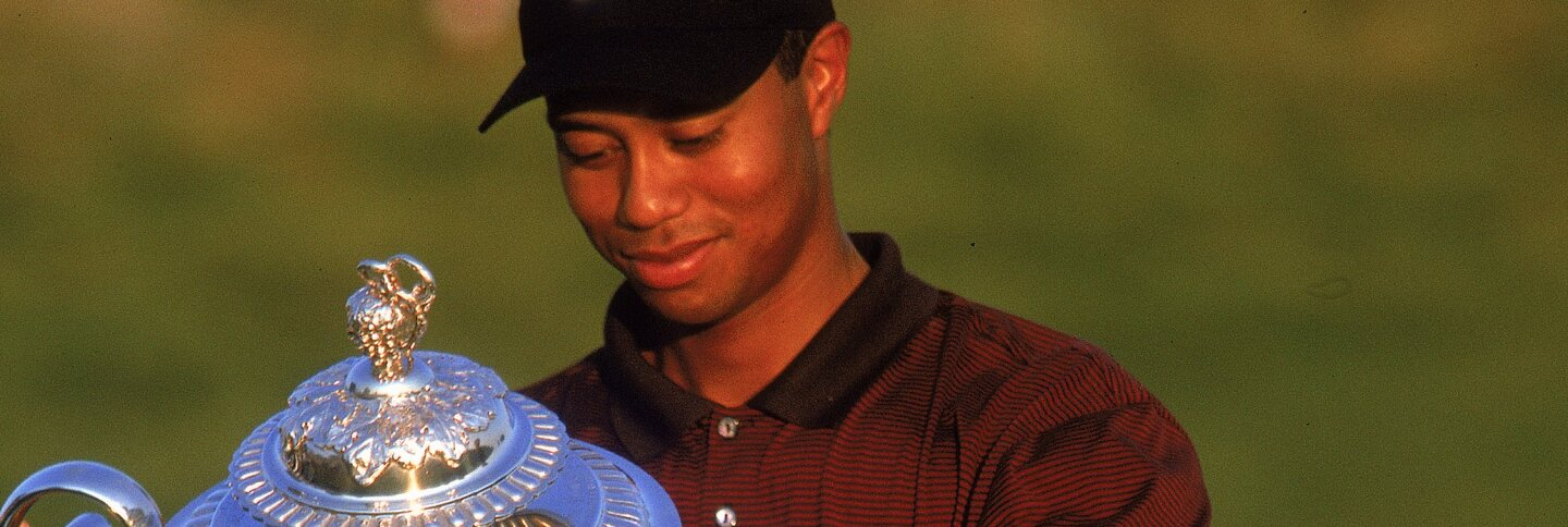 Tiger Woods at the PGA Championship
