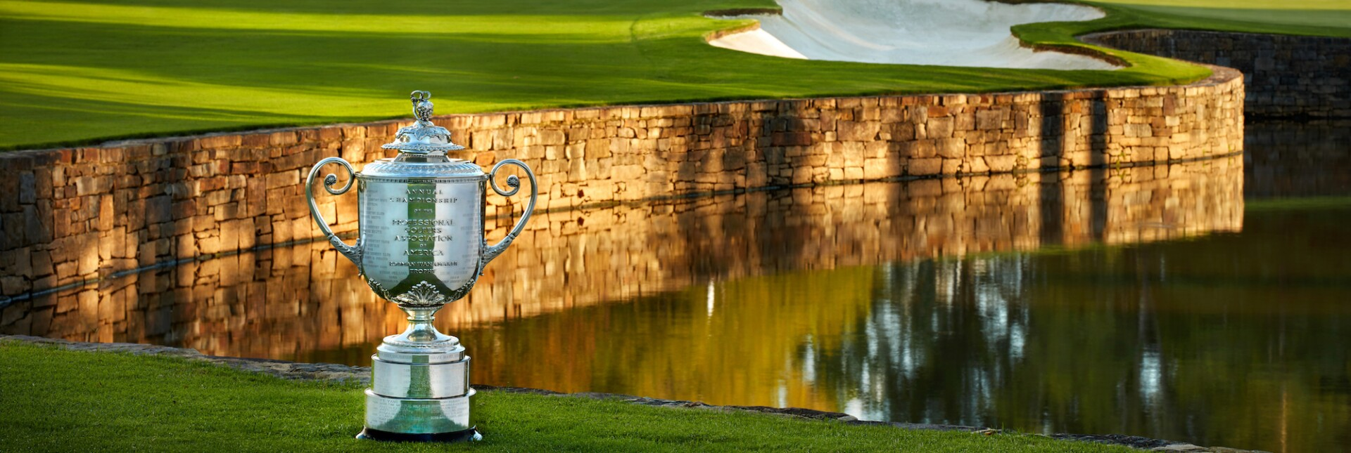 The Wanamaker Trophy at Quail Hollow Club
