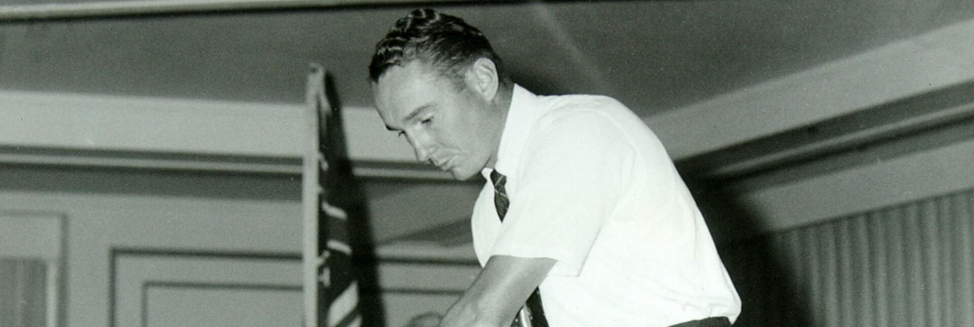1958, Annual Meeting, Dow Finsterwald, portrait